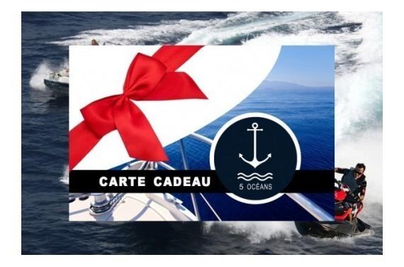 Permis côtier - Carte cadeau à imprimer 250€ (Au lieu de 350€,  Promo du mois d'Octobre jusqu'au 31/10)